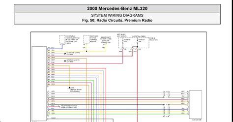 mercedes benz ml system wiring diagrams radio