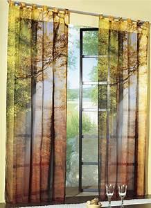 Gardinen Mit Verdeckten Schlaufen : dekoschal herbst motiv verschiedene ausf hrungen gardinen bader ~ Markanthonyermac.com Haus und Dekorationen