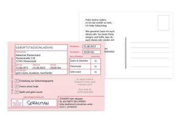geburtstagseinladungen einladungskarten zum geburtstag