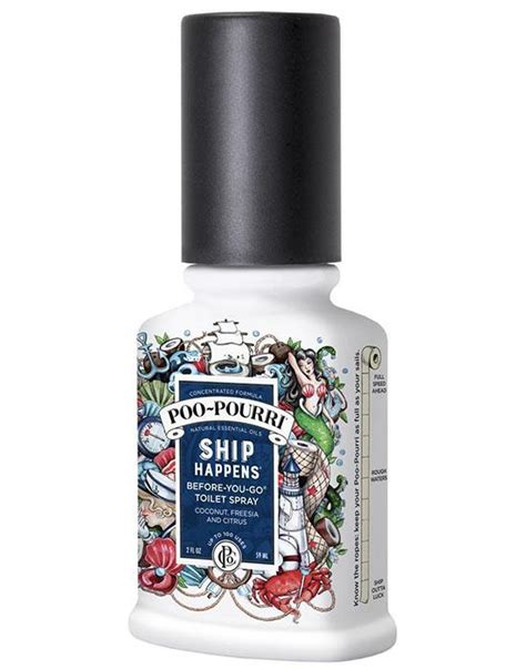 Bathroom Odor Neutralizer by Poo Pourri Ship Happens Toilet Bathroom Spray Essential
