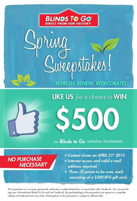 Thrifty Momma Ramblings ? Enter to Win $500 Blinds To Go