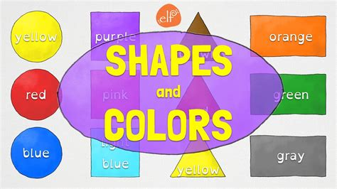 shapes and colors for kindergarten and preschool children 807 | maxresdefault