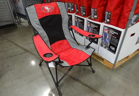 25% Off Rawlings Nfl & Ncaa Tailgate Chairs (starting At .49 Shower Chairs For Handicapped Side Chair Tables Round Bungee Race Car Desk Height Adjustable High Baby Crate And Barrel Dining Table Kids Papasan Homemade Rocking