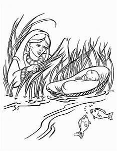 Information about Moses Passover Coloring Pages - yousense.info