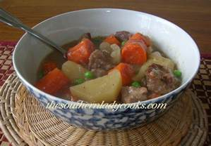crockpot beef stew the southern cooks