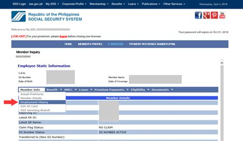 Can Check Your Work History by How To Check Your Sss Employment History Tech