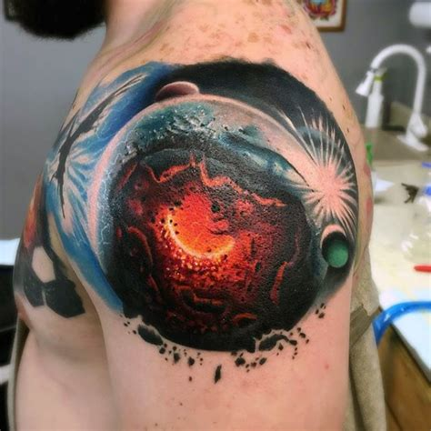 space tattoos designs ideas  meaning tattoos