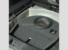 Basser Subaru Outback 4 FitBox subwoofer enclosure