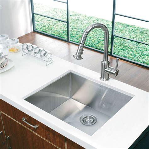 depth kitchen sink vigo industries vg2320c 23 inch undermount single bowl 3663