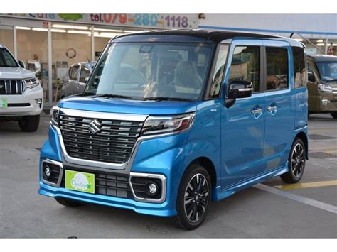 Suzuki Nex Ii Picture by Suzuki Spacia Custom Hybrid Xs Turbo New Car Blue Ii
