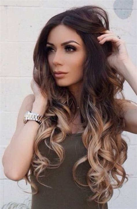 Darken Hair Styles by Ombre Hairstyles Makeup Ombre