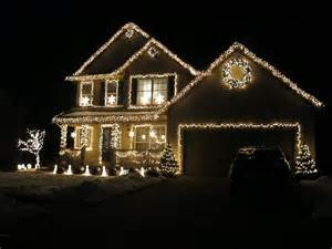 south african girl in america christmas lights on houses