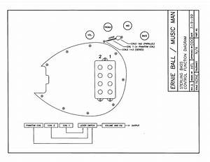 Music Man Stingray 5 Wiring Diagram