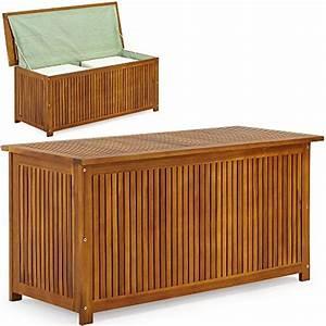 Holz Versiegeln Wasserdicht : auflagenbox mit innenplane holztruhe akazienholz 117cm ~ Lizthompson.info Haus und Dekorationen