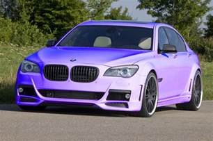 BMW Car Purple