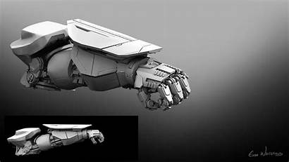 Omega Valor Robot Concept Weapon Armor Artstation