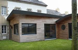 agrandissement maison en bois avec toit plat pv88 With delightful maison toit plat bois 5 les 25 meilleures idees de la categorie garage toit plat
