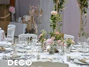 Décoration Mariage Champêtre Chic : d coration mariage champ tre chic ~ Melissatoandfro.com Idées de Décoration
