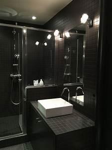 Salle De Bain Carrelage Noir : salle de bain noir ad et moi 2 ~ Dailycaller-alerts.com Idées de Décoration