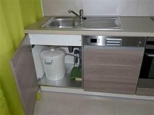 la cuisine With meuble sous evier avec lave vaisselle