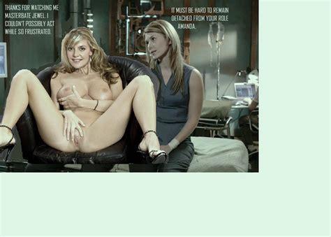 Disney Bitches Amanda Tapping Nude Fakes Hot Naked Babes