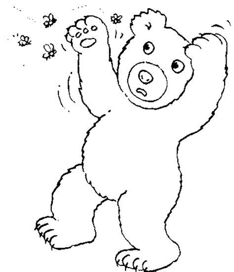 cuisine magique coloriage ours ours 2 à colorier allofamille