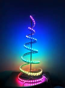 led light strip on kmart special combine for diy christmas tree designing with leds