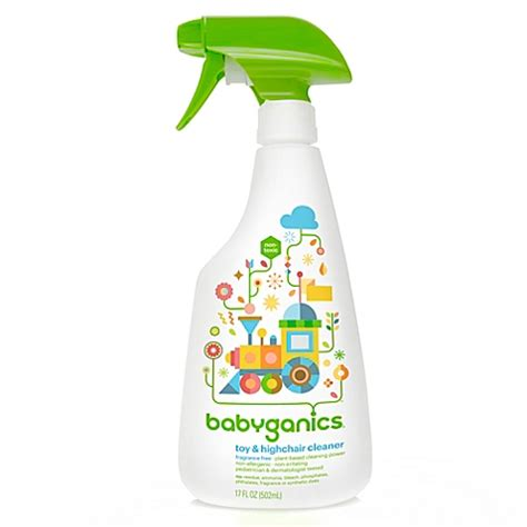 babyganics floor cleaner fragrance free babyganics 174 17 oz fragrance free highchair cleaner