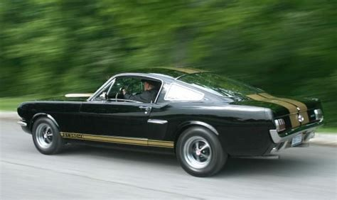 1966 Ford Shelby Gt350h. The H Stood For Hertz, Because In