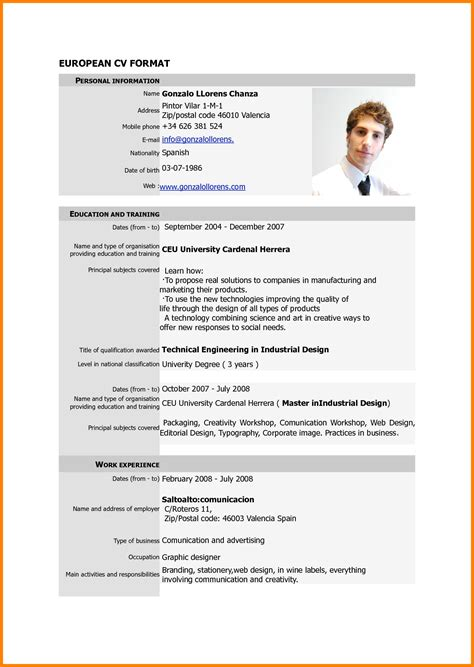 resume format pdf ledger paper