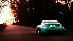 Toyota GT86, GT86, Camber, BBS, Green Wallpapers HD