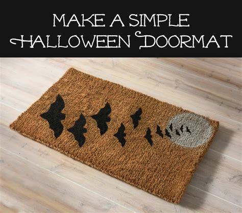 Make A Doormat by Make A Simple Doormat With Spray Paint Diy