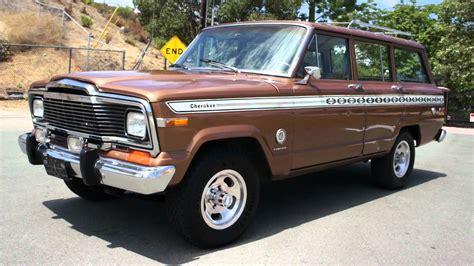1979 jeep cherokee chief 1979 jeep cherokee information and photos momentcar