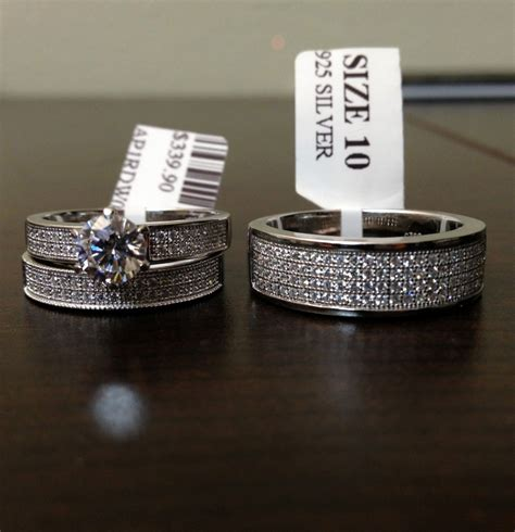 wedding rings sets for him and cheap staruptalent