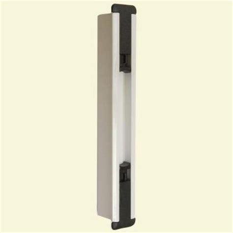 home depot sliding glass door lock lockit sliding glass door black white cavity insert