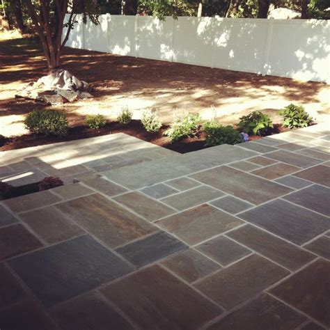bluestone patio s and bluestone walkway and steps