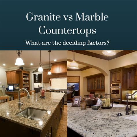 Vs Granite by Granite Vs Marble Countertops Similarities Differences