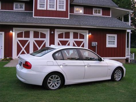 Sell Used 2006 Bmw 325i Alpine White Tan Leather E90 In
