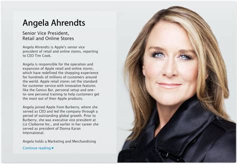 angela ahrendts official business insider