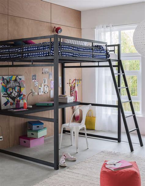 lit mezzanine bureau fly 60 lits mezzanine pour gagner de la place décoration