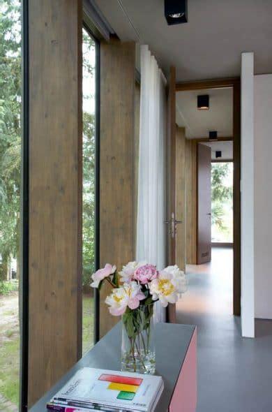 Glashaus Im Wald  Schöner Wohnen  Innenarchitektur Büro