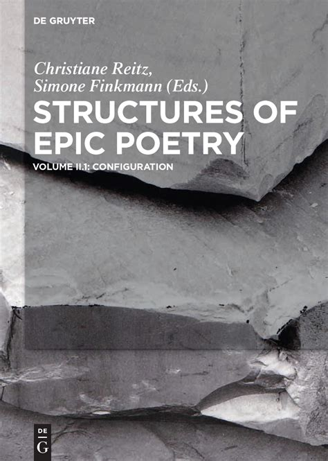 structures  epic poetry structural elements