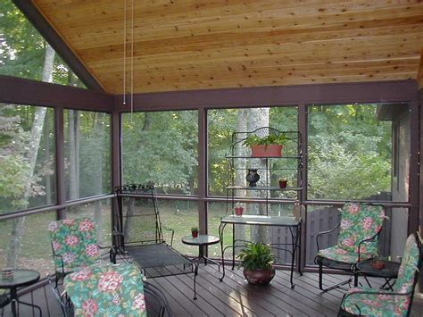 miscellaneous screened in porch cost with hardwood