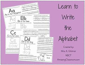 free worksheets alphabet writing sheet free math With learning to write alphabet templates