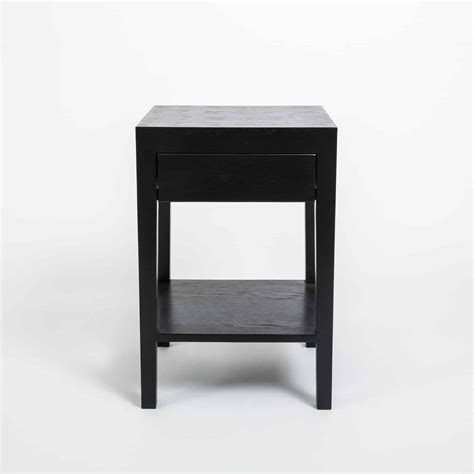 Bedside Tables Hd Pic by Cheriton Bedside 1 Drawer Black Di Designs