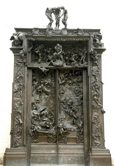 la porte des enfers la porte de l enfer auguste rodin