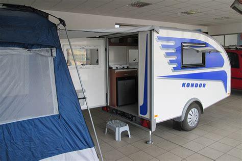 wohnwagen 2 personen kondor kleiner wohnwagen f 252 r 2 personen