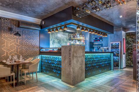 Innovative Bar Design by Hanaya Sushi Gin Bar In Lisbon By Yaroslav Galant
