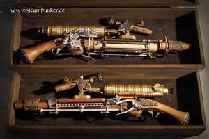 Bild: Steampunk, Clockwork, Waffe, Pistole von Steampunk