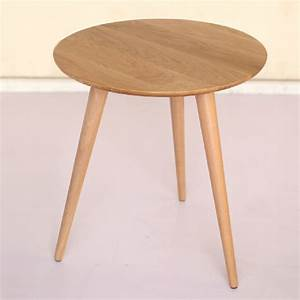 60 cm round white oak wooden table coffee table in coffee With 60 round coffee table